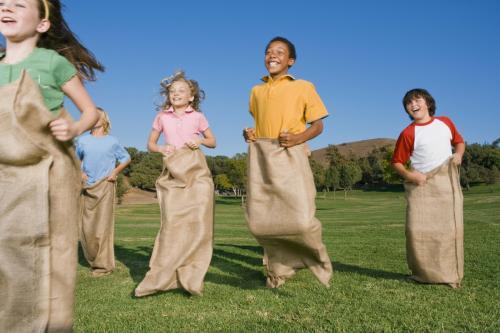 Gymkana para niños